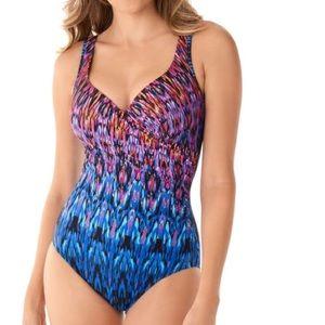 Miraclesuit Vesuvio It's a Wrap One-Piece Swimsuit